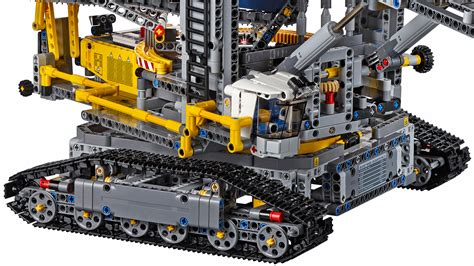 lego technic pieces lego s largest technic set can dig a moat around your home