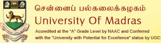 Madras Mba Result June 2017 by Madras Results 2013 Ug Pg Results Www Unom Ac In