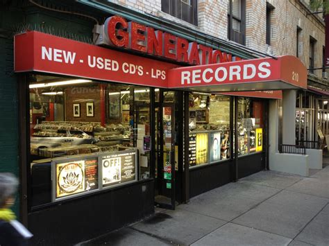 Records Ny Vinyl Lives Generation Records New York New York Record Store Day 2015 Edition