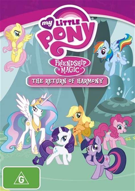 My Pony Is Magic Vol 1 my pony friendship is magic the return of harmony