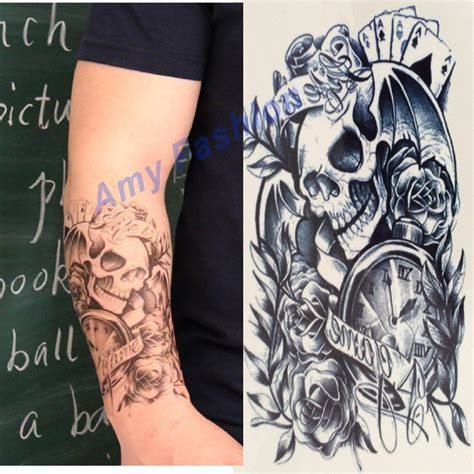 Tato Tatto Temporary Tatto Kecil Tatto Baterei Low 10 5x6 Cm X 205 compare prices on clock legs shopping buy low