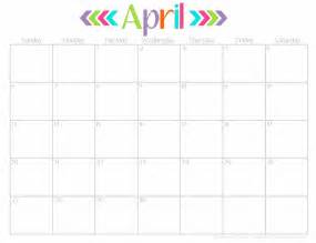 Kalender April Calendar April Amazing Calendar Printable 2017