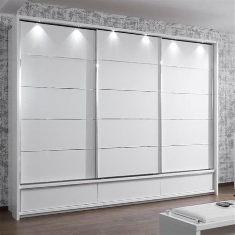 White Wardrobe With Drawers Manhattan 200cm Wardrobes With Drawers Furniture For