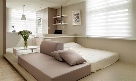 beds for studio apartments tiny studio apartment by wch interior home design