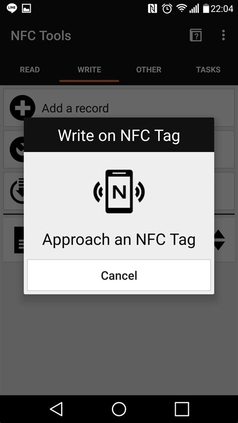 nfc reset tag ameba arduino rtl8195 nfc access the content of nfc