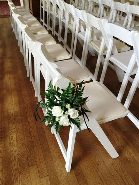 Wedding Aisle Flower Hanger by 17 Best Images About Aisle Chair And Pew Flowers On