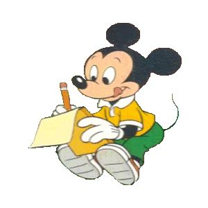 pictures animations mickey mouse myspace cliparts