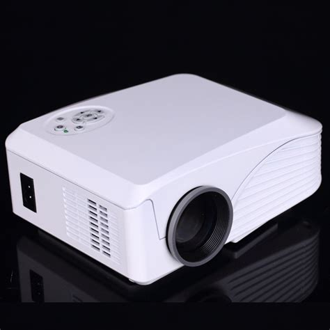 build in wifi android 4 4 portable led projector home