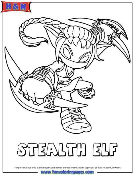 eye brawl skylander coloring page free coloring pages of the skylander eye brawl