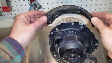 how to replace a blower motor on a how to replace a heater blower motor youtube