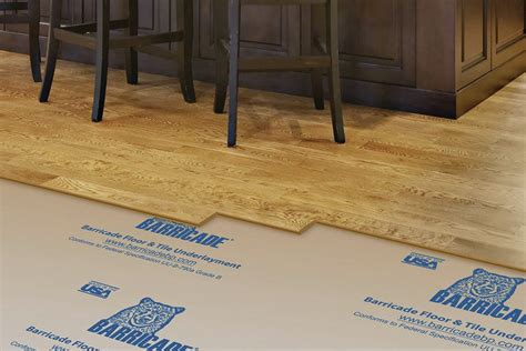 barricade floor and tile underlayment jlc online