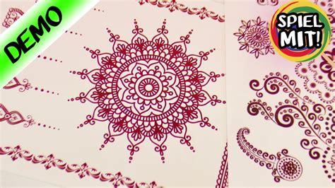 henna tattoos zum aufkleben henna tattoos zum aufkleben sch 246 ne mandala muster