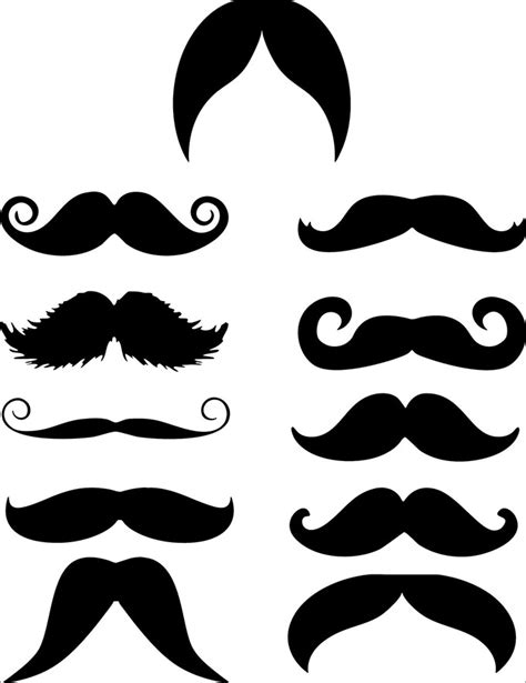 mustache print out template mustache template free premium templates