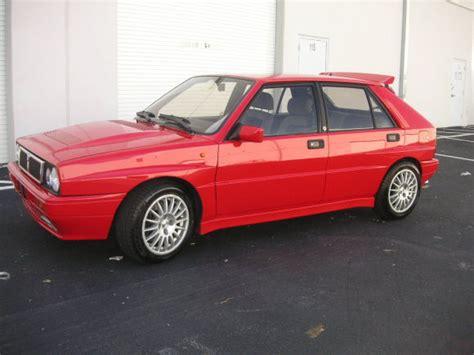 Lancia Dedra Integrale For Sale 25 Year Rule 1989 Lancia Delta Hf Integrale In Florida