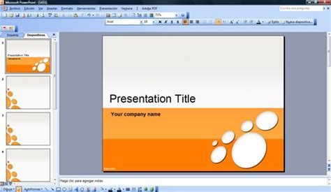 free microsoft office powerpoint template