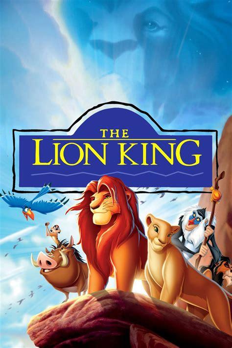 Film Vizatimor Lion King | the lion king 1994 posters the movie database tmdb