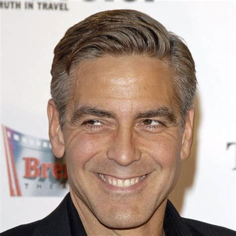 Comb Hairstyle George Clooney by The Clooney Haircut Haircuts Models Ideas
