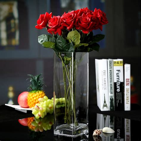 Flower Vase Decoration by China Import Blown Glass Vase Decoration Vases Supplier