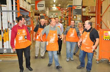 galloway and absecon mayors tour home depot to build a