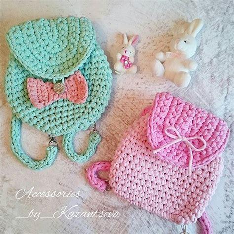 tutorial dodia instagram трикотажная пряжа рюкзачки bags pinterest mochilas
