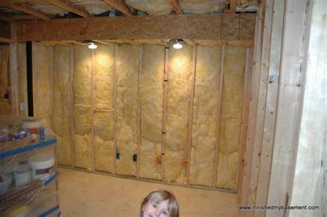 Marvelous Unfinished Basement Ideas #4: Finished-basement-framed-walls.jpg