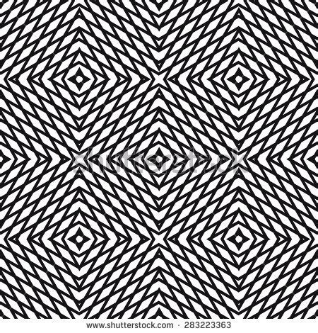 moire pattern texture geometric hypnotic ornament vector seamless pattern