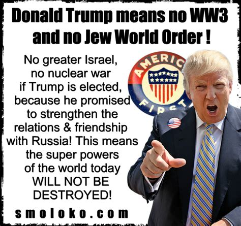 donald trump ww3 israel could start ww3 before trump gets elected smoloko