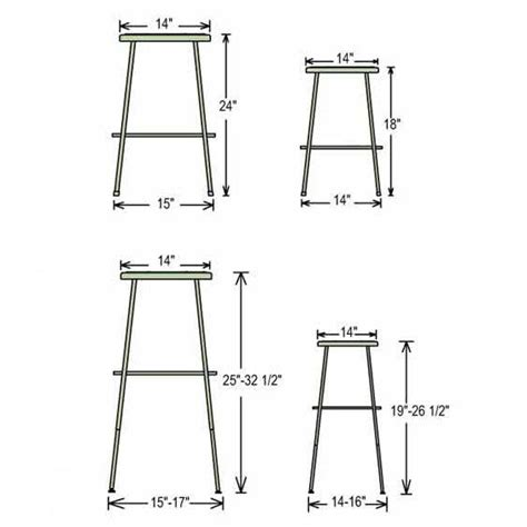 Kitchen Island Stool Height Black Frame Science Stool Size Jpg 564 215 564 Kitchen Design Pinterest Stools And