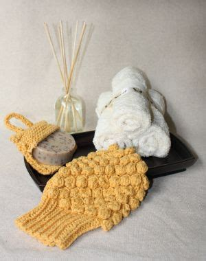 knit pattern soap holder spa mitt and soap sack holder make a perfect gift