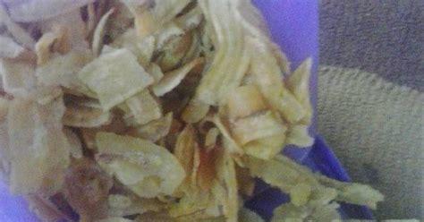 Keripik Pisang Asin Kg resep keripik pisang asin oleh bunda nizham khaira cookpad