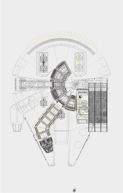millenium falcon floor plan millennium falcon floor plan image collections home