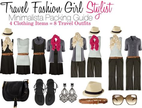 Stylish Travel Wardrobe by Chic One Bag Travel An With Travel Fashion