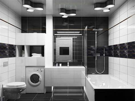 waschmaschine im bad 52 fotos badezimmer in schwarz und wei 223 archzine net