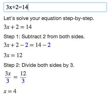 algebra calculator mathpapa