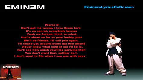 eminem superman lyrics eminem superman lyrics on screen youtube