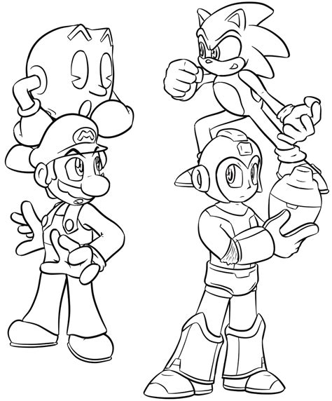 smash bros coloring pages mario smash brothers free coloring pages
