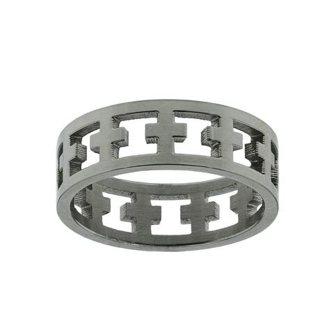 Cutout Ring cutout cross ring s rings on purityringsonline