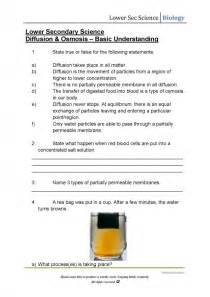 diffusion and osmosis worksheet answers davezan