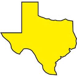Yellow Tx Outline Clipart Best