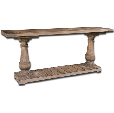 salvaged wood console table salvaged solid wood rustic console table 71 quot zin home