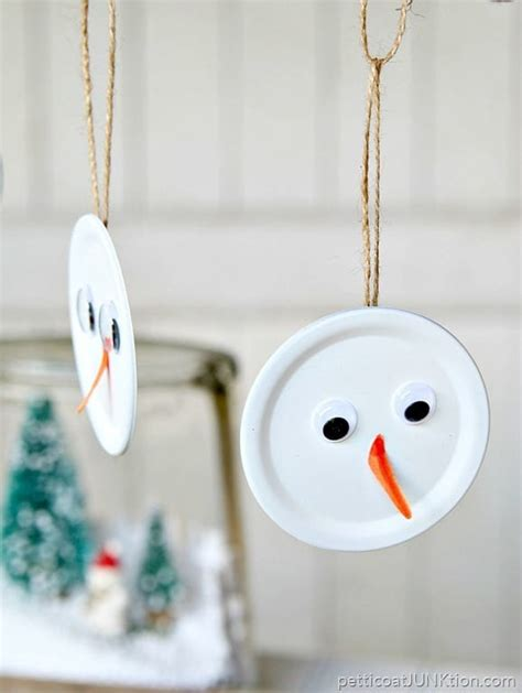 Snowman Handmade - snowman handmade ornament is the tops petticoat