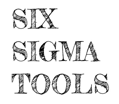 Two Sigma Mba Internship by Six Sigma Tools Used In A Dmaic Project
