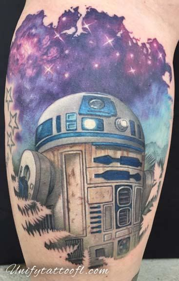 R2 D2 Relegated To Pepper by R2 D2 By Pepper Tattoonow