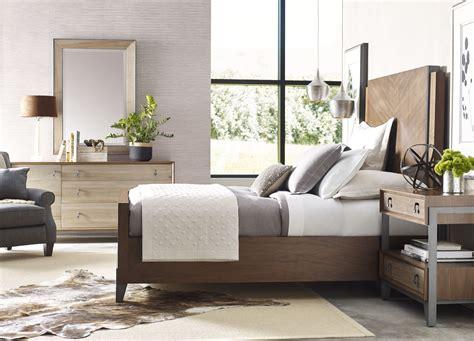bedroom furniture walnut ad modern synergy walnut chevron panel bedroom set from