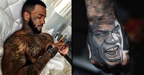 the game obama tattoo the a rapper with his ink on point tattoodo