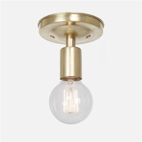 Brass Flush Ceiling Light Deckenle Brass Ceiling Light Flush Mount Ceiling Light Fixture Flush