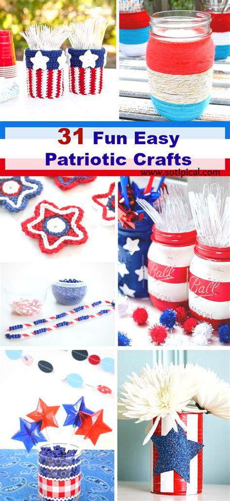 31 Easy Patriotic Crafts