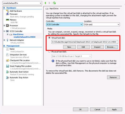 hyper v ceate and deploy machine templates without vmm