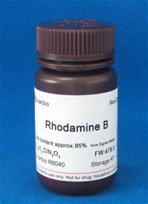 Rhodamin B ethiogrio illegal rhodamine b and auramine food dyes