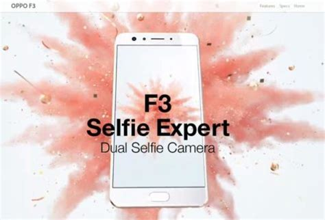 Silikon Spotlite Oppo F3 oppo f3 with dual front at rs 19 990 estrade india business news financial news